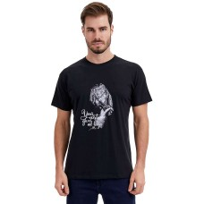 CAMISETA ESTAMPA HOPE - Preto